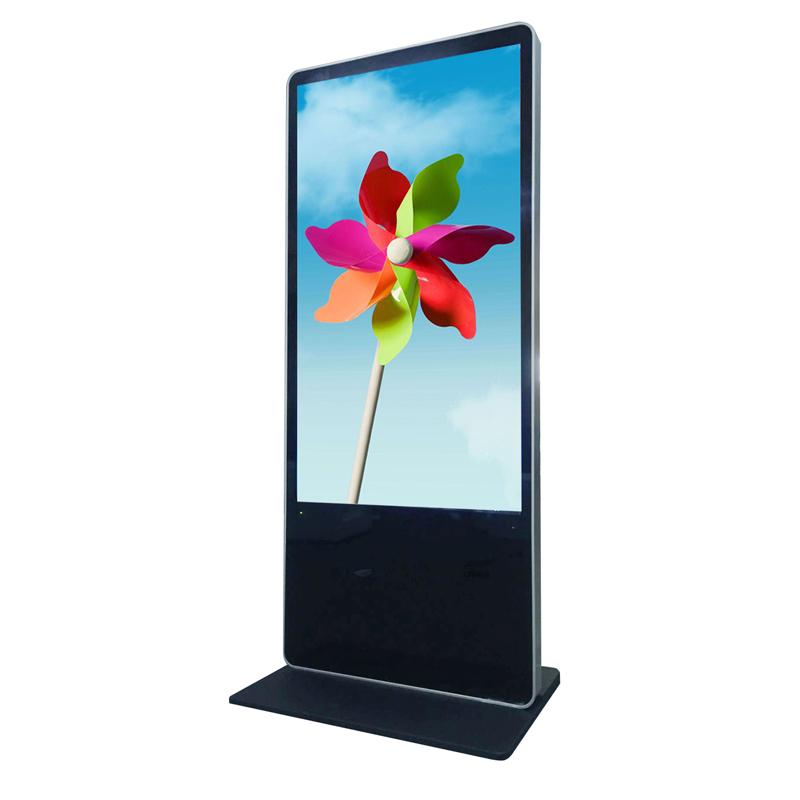 55-Inch-Floor-Standing-IR-Touch-Screens